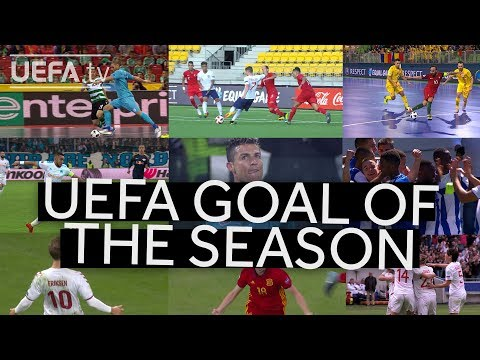 SHORTLIST: UEFA GOAL OF THE SEASON 2017/18 thumbnail