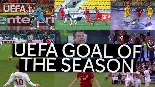 SHORTLIST: UEFA GOAL OF THE SEASON 2017/18