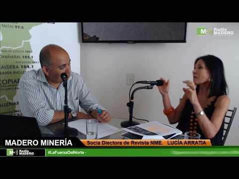 """MADERO MINERÍA - Socia Directora de Revista """"Nueva Minería y Energía"""" - LUCÍA ARRATIA"""