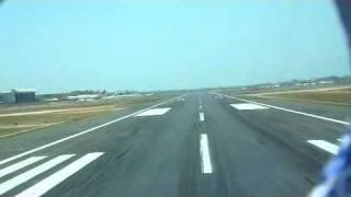 Take-off from BOM Runway 27  (Mumbai)