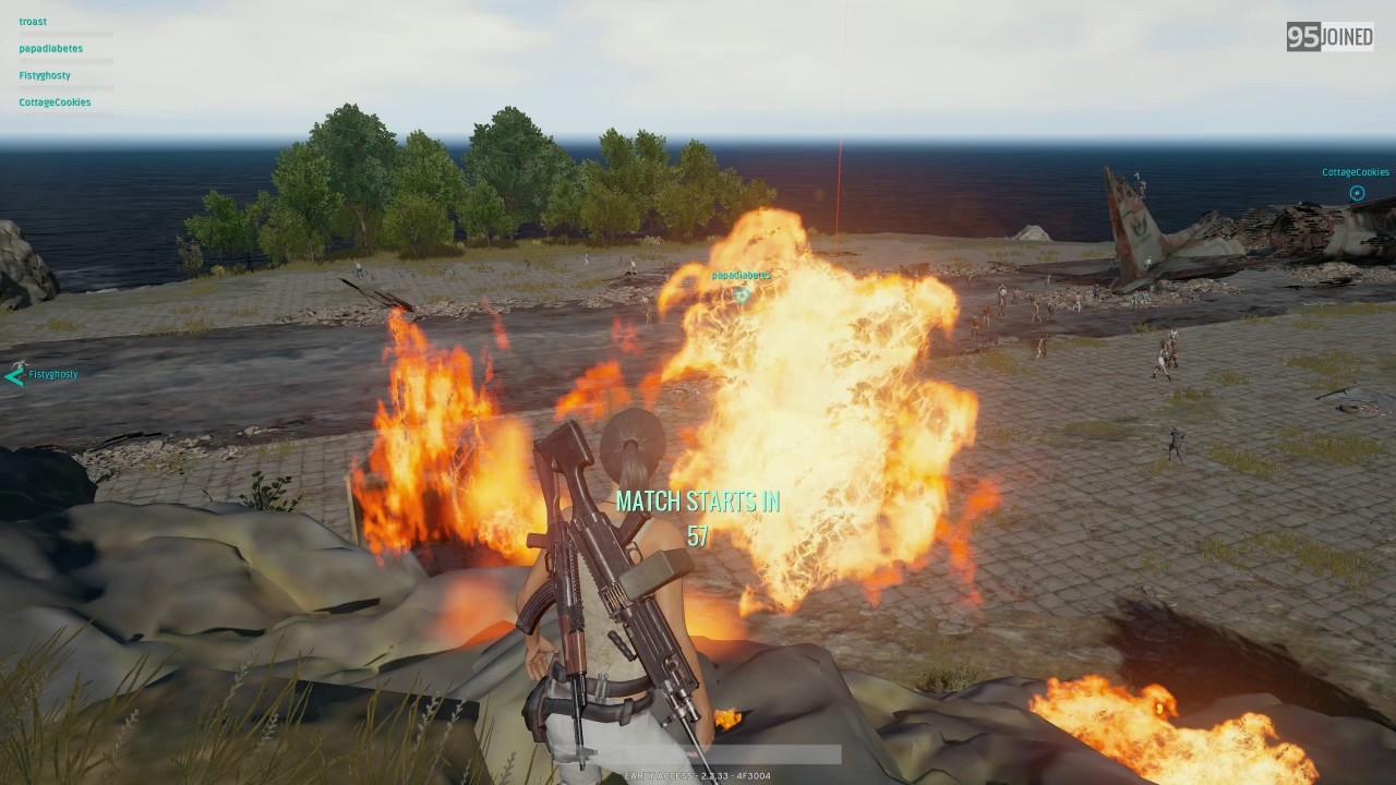 PUBG Molotov Glitch