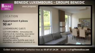 A louer - Appartement - LUXEMBOURG (1857) - 4 pi�ces - 90m�