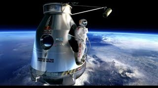 Felix Baumgartner Brakes the Speed of Sound  after skydiving from 128,100 feet above the earth!