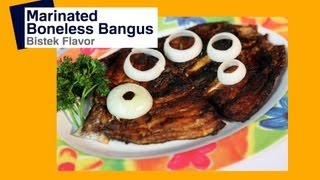 Marinated Fish Recipe : Boneless Daing na Bangus: Marinated | Pinoy How To