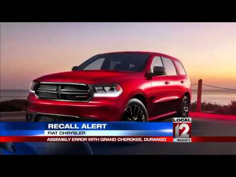 Chrysler Fiat issues urgent recall of SUVs
