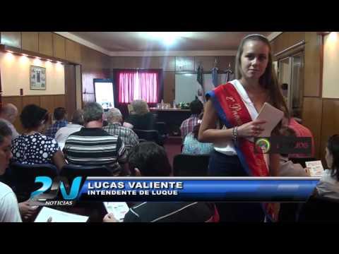 Intendente LUCAS VALIENTE -  CONFERENCIA DE PRENSA - Festival Nacional de la  Familia Piamontesa