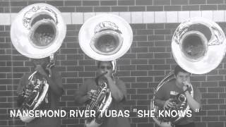 "Nansemond River Tubas 2015 ""She Knows"""