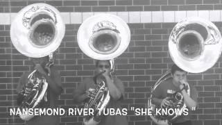 """Nansemond River Tubas 2015 """"She Knows"""""""