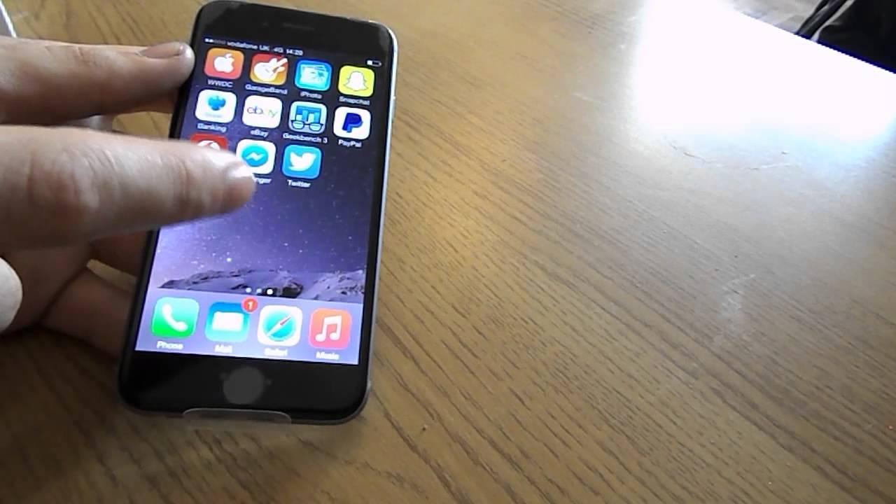 iphone 6 4 7 space gray 64gb hands on overview youtube. Black Bedroom Furniture Sets. Home Design Ideas