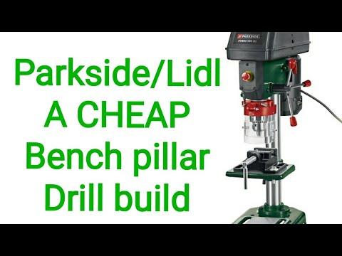 Parkside Lidl 500w Cheap Bench Pillar Drill Build 003