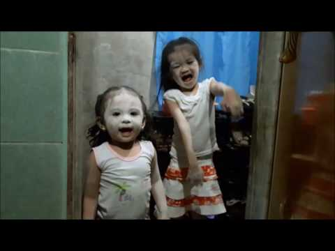 Cute Zombie Monster Kids | Real Zombies Alive Found Flesh To Eat :-) | Halloween costume