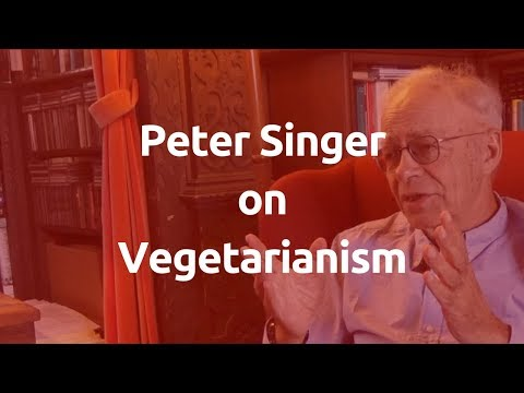#PeterSinger tackles the best objections to #vegetarianism