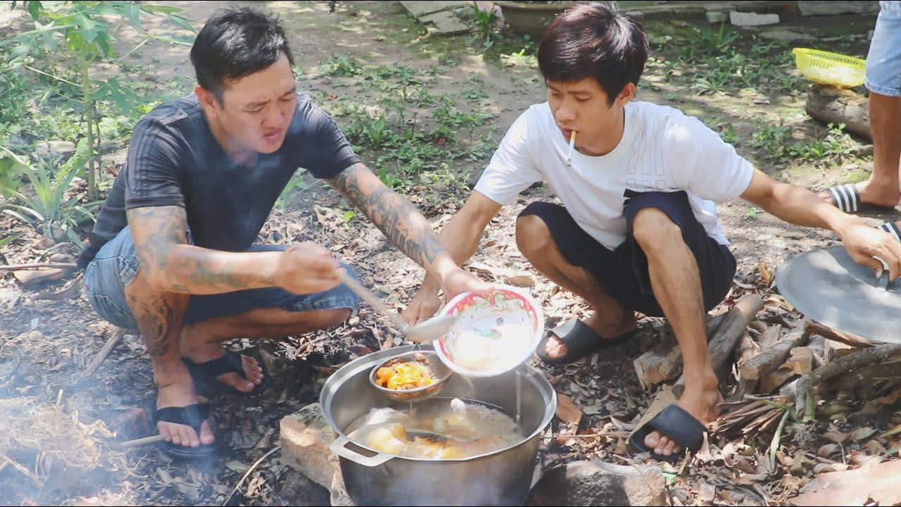 Ăn Nhậu Miền Tây Lẩu Dụm Bò Hầm Chanh Muối Lai Rai Vài Xị