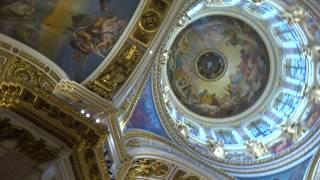 【サンクトペテルブルク】『カザン聖堂』②:内装