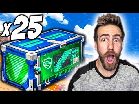25 NEW IMPACT ROCKET LEAGUE CRATE OPENING!