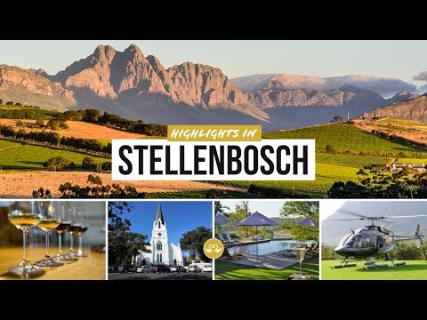 Highlights in Stellenbosch South Africa: Lifestyle in the Cape Winelands Südafrika