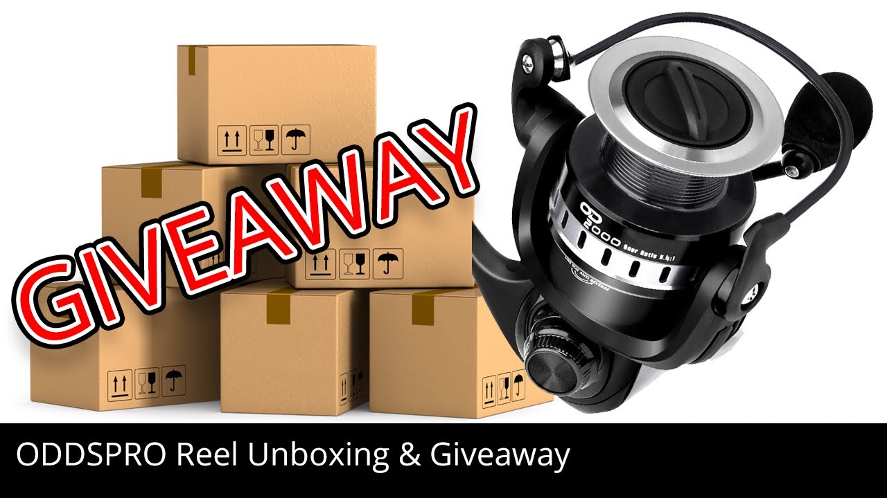 ODDSPRO Reel Unboxing and Reel Giveaway