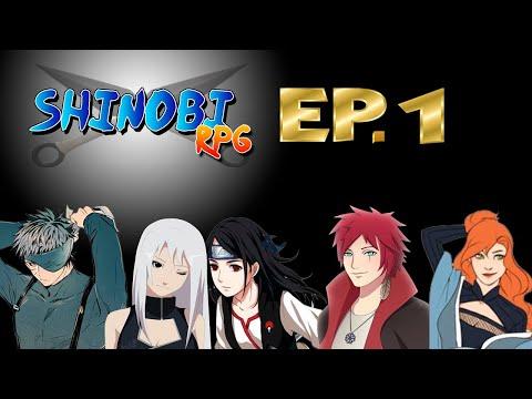 RPG De Mesa - Shinobi Ep. 01 - A Nova Geração Da Folha E Da Areia
