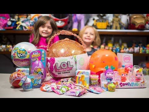 Thumbnail: HUGE LOL Surprise Pikmi Pops Toys Opening Surprise Eggs Blind Bags Toys for Girls Kinder Playtime