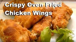 Crispy Oven Fried Chicken Wings Italian Food