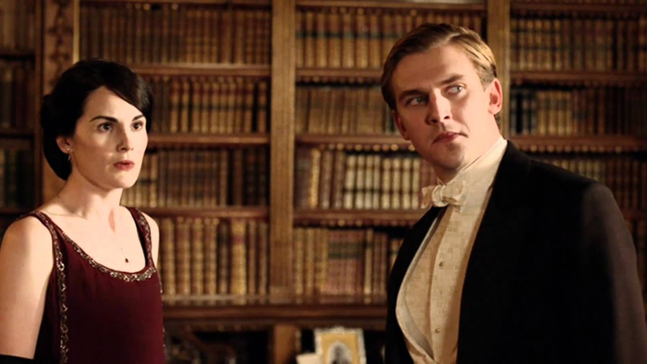 Christmas Special, Series 2 - Mary & Matthew, Downton Abbey, Music ...