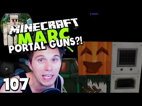 Minecraft MARC #107 ✪ PORTAL GUNS & EIN VERRÜCKTER RAUM! - ES IST VIEL ZU WAAAARM