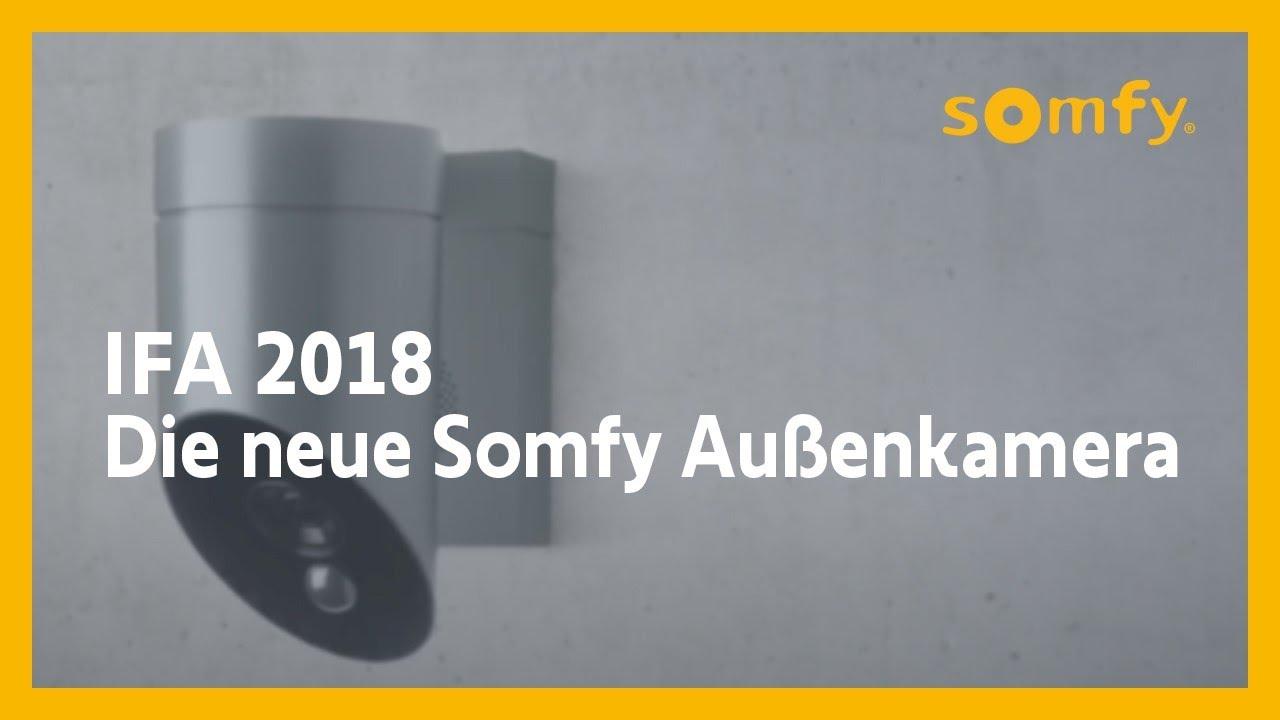 Die neue und smarte Außenkamera - Somfy auf der IFA 2018