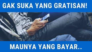 Rekaman Percakapan Telepon || Enggak Suka yang GRATISAN..!
