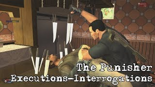 The Punisher (2005) - Best Interrogations/Executions (uncensored)