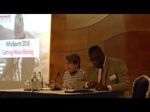 Baroness Tanni Grey Presentation. Why Sports Getting Wales Moving Conference 2018