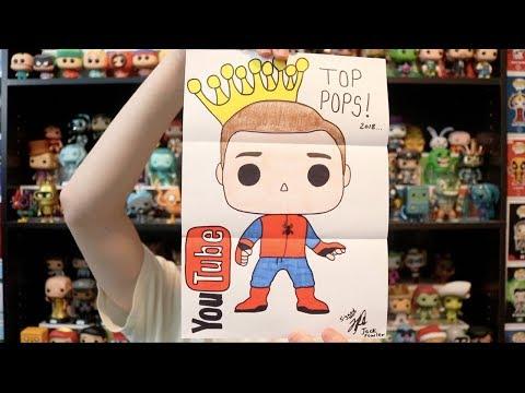 P.O. Box Opening | Top Pops Funko Concept Art