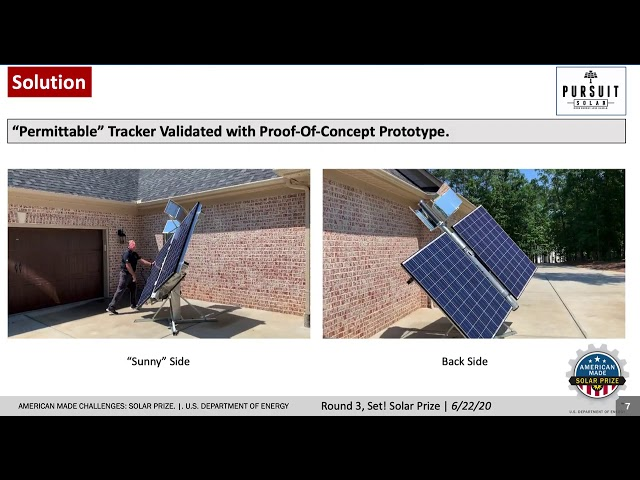 Pursuit Solar Advances to Finals of American-Made Solar Prize Competition