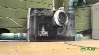 видео канализационная установка