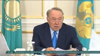 Глава государства провел встречу с председателем Комитета по водным ресурсам МСХ РК