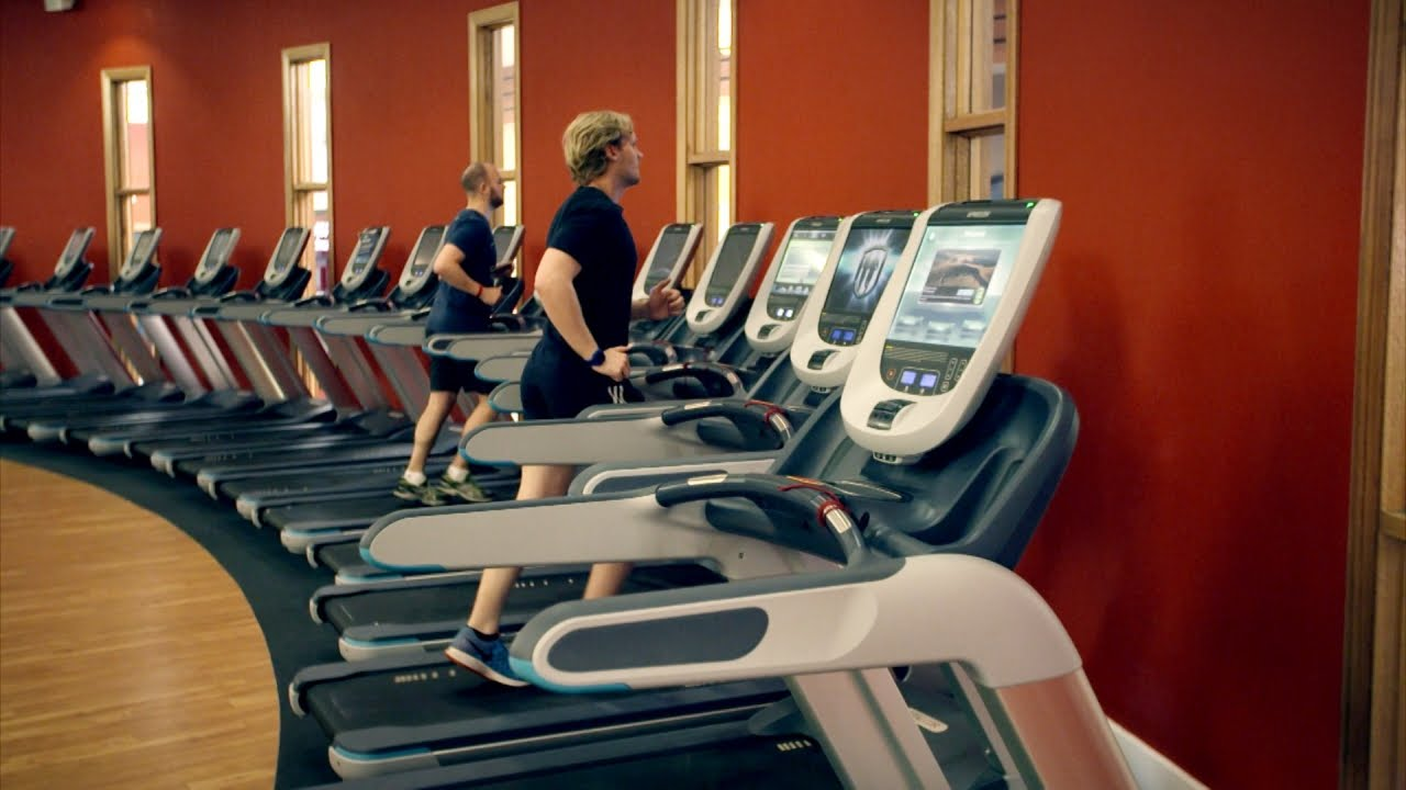 Inside a Treadmill