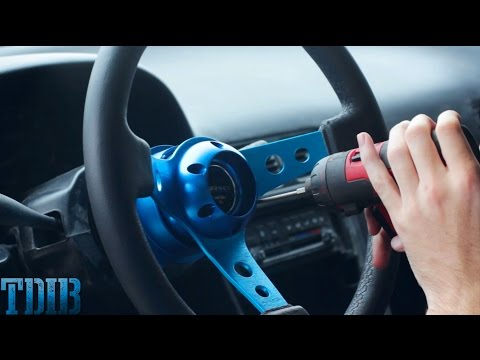 Thumbnail: How to Install a Steering Wheel!-PROJECT 240SMURRFX(Ep.20)