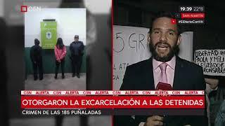 Crimen de las 185 puñaladas: Otorgaron la excarcelación a las detenidas