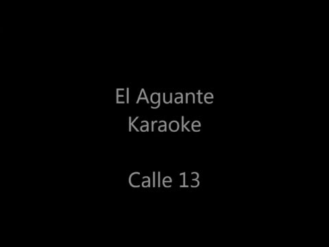 Karaoke El aguante