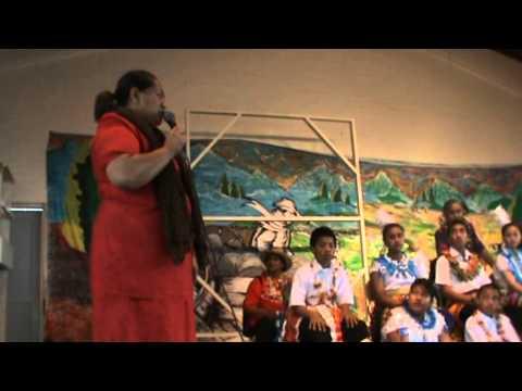 Afu's school trip to Tonga