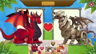BREEDING EVENT : DEEP RED DRAGON WITH SANDSTORM DRAGON