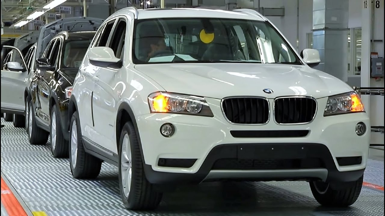 BMW Convertible bmw x3 manufacturing plant BMW X3 Production - YouTube