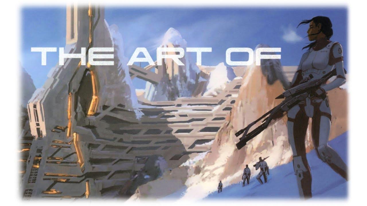 Mass Effect 1 Concept Art