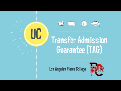 UC Transfer Admission Guarantee with Los Angeles Pierce College