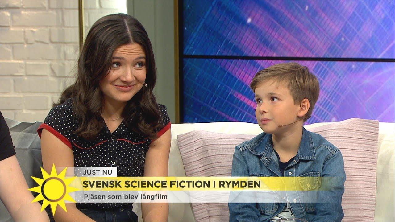 """Svensk science fiction på bio – """"Ett jättehärligt äventyr som går rakt in i hjä - Nyhetsmorgon (TV4)"""