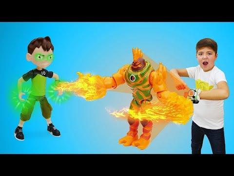 Видео: Кевин против Бен10! Веселые видео мальчикам.
