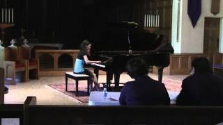 Miranda Shum, age 12, Rondo Brillante, op. 62 - Weber