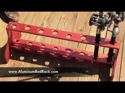 Aluminum Rod Rack