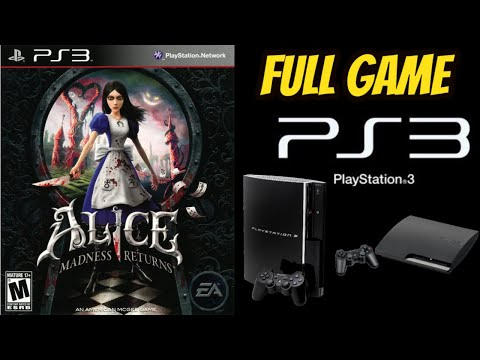 Alice: Madness Returns 100% ALL SECRETS Walkthrough Gameplay (PS3) NO COMMENTARY