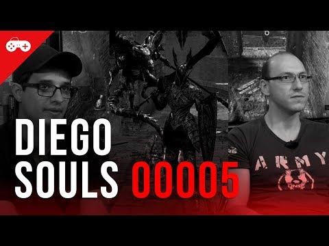 DiegoSouls 5: O noob continua sua luta contra Dark Souls! Será que veremos um novo boss?