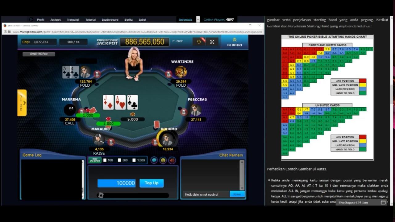 Cara menang main poker online hingga 50% dalam waktu 15 ...